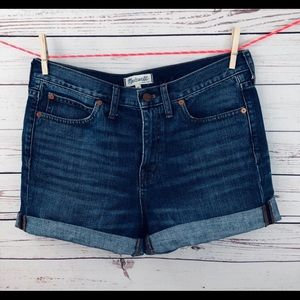 Size 28 Madewell High Rise Denim Shorts